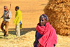 Tigray region (Neal J.Wilson) Tags: africa african ethiopia ethiopian travel nikon d5600 tigray farming farmworkers women hay haystacks harvest pink