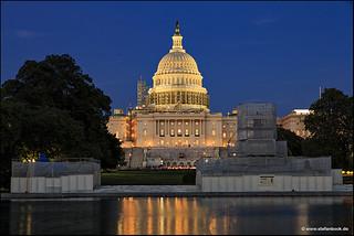 Capitol Washington DC Under Construction