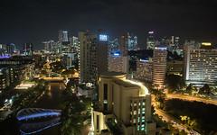 Singapore by night (m2onen) Tags: singapore night lowlight skyline city urban cityscape skyscraper sony a6300 sigma 16mm f14 grand copthorne waterfront hotel