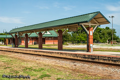Amtrak Pensacola Station (M.J. Scanlon) Tags: amtrak business camera canon capture cargo coast commerce copyrighted digital eos engine florida freight haul horsepower image landmark landscape locomotive logistics mjscanlon mjscanlonphotography merchandise mojo move mover moving outdoor outdoors passenger passengers pensacola pensacolastation photo photog photograph photographer photography picture platform rail railfan railfanning railroad railway scanlon sky steelwheels super track train trains transport transportation tree wow ©mjscanlon ©mjscanlonphotography