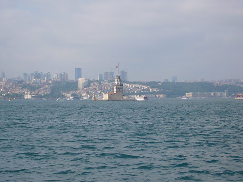 Istanbul, Maiden's Tower from Kadikoy ferry [12.06.2011]