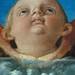BELLINI Giovanni,1487 - La Vierge et l'Enfant entre Saint Pierre et Saint Sébastien (Louvre) - Detail 45