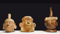 Céramiques Huaco (Musée du quai Branly - Jacques Chirac, Paris)
