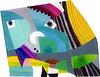 2011_slika_plexi_nosek_Peter_Ciuha (peter.ciuha) Tags: paintings acrylic glass plexi canvas peter ciuha hanji paper kozo tak illuminated