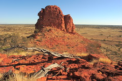Mount Ooraminna and beyond (Darren Schiller) Tags: centralaustralia alicesprings mountain ooraminna northernterritory desert australia landscape rock sandstone outback
