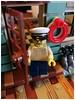 Captain Anton (Bricks and Light) Tags: minifigures legography legophoto lego legophotography ideas captain anton bait shop city