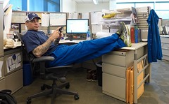 At Ease at Work (49er Badger) Tags: inspector plant welder certified energy industry