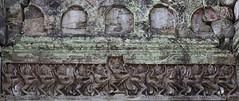 Preah Khan Apsara carvings (ORIONSM) Tags: cambodia temple carving stone khmer apsara dancing dancers olympus omdem1 olympus14150mm preahkhan