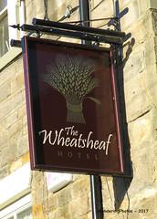 Pub Sign for the Wheatsheaf - Corbridge Northumberland England (WanderingPhotosPJB) Tags: flickruploaded pubsigns pubspubsigns england northumberland corbridge thewheatsheaf pub publichouse inn sign