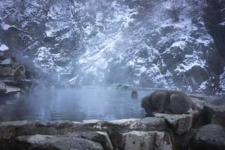 Hot spring...