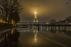 Paris crue 2018 (apparencephotos) Tags: crue cruedelaseine paris brouillard seine birhakeim metro ratp toureiffel eiffeltower