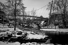 Snow Day! (ArmyJacket) Tags: greenvillesc greenville fallspark park city outdoors southcarolina upstate weather snow water reedyriver libertybridge landmark