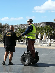 A morning segwaying. (martinbrampton) Tags: tenerife julio january2018 sandossanblasnatureresortgolf segway nitram abona canarias spain es