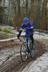 DSC_0045 (sdwilliams) Tags: cycling cyclocross cx misterton lutterworth leicestershire snow