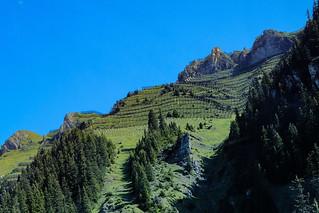 * Männlichen Mountainside Avalanche Defences
