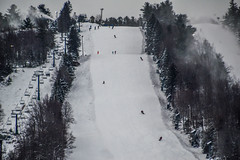 Big Boulder Ski Area (Beangrau12) Tags: bigboulderskiarea pennsylvania blackandwhite snow skiers trees chairlift making nikon3200