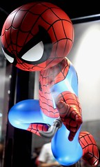 2017-Gentle Giant's Spider-Man Display at SDCC-06 (David Cummings62) Tags: sandiego ca calif california comiccon con david dave cummings 2017 spiderman marvel comics statue gentlegiant movies tvseries animated