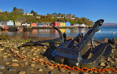 Tobermory (images@twiston) Tags: tobermory ballamory mull isleofmull anchor rust chain scottish inner hebrides argyll argyllandbute harbour dockside cottages colourful iconic waterfront buildings shops hotel pub afternoon isle island highlands islands scotland landscape innerhebrides imagestwiston schottland caledonia ecosse escoia alba scottishhighlands
