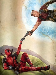 Coming Soon Deadpool the Sequel (misterperturbed) Tags: deadpool huntvalleytownecentre mcu marvelcinematicuniverse marvel disney movieposter comingsoon
