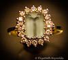 Day 33. (lizzieisdizzy) Tags: jewellry jewellery ring gold aquamarine diamond gem gems precious gift present birthdaygift sentimental expensive reflective shiny twinkley glittery
