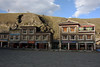 The streets of Tagong, Tibet (sensaos) Tags: china chinese tibet travel sensaos 2014 tagong kham region sichuan province traditional buidling house street architecture shops lhagang