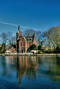 Kasteel Minnewater (Lee-Anne Evans) Tags: bruge river water house trees blue sky hdr photomatrix 2018 february canon 1300d flanders