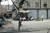 Roadside food stall (motohakone) Tags: china old slide digitized 1980 wuhan 武汉市 hubei 中国