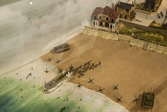 2017-09-13_10-51-19 D-Day Diorama (canavart) Tags: militarymuseumsofcalgary scale model diorama dday museum