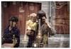 Passé, futur et présent (Jean-Marie Lison) Tags: v700 scandia vitrine brocanteur reflet enfant