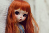 Robin (-Poison Girl-) Tags: pullip pullips doll dolls custom customs robin poisongirlsdolls poison girl poisongirldolls redhead ginger orange red hair head wig long wavy waves fringe bangs carrot obitsu body white natural skin skintone brown eyes eyechips handmade handpainted repaint repainted paint makeup faceup kawaii japan collector cute sweet freckles pecas nose carving carved mouth lips junplanning jun planning groove grooveinc