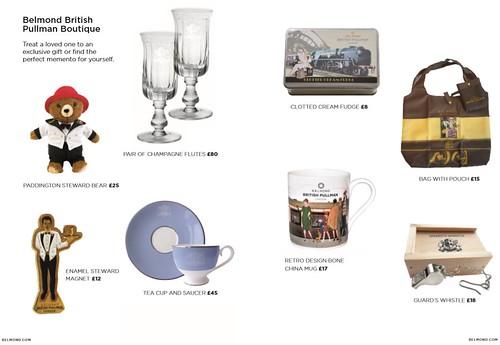 Belmond British Pullman Gifts