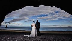 Wang Song & Ran (LalliSig) Tags: wedding photographer iceland people portrait portraiture pink reynisfjara beach cave reynisdrangar ocean water