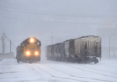 Winter Reminder (Missabe Road) Tags: up 1380 ricespoint unionpacific winter