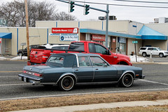 1986 Chrysler Fifth Avenue (Rivitography) Tags: 00bubl connecticut 1986 chrysler fifthavenue blue kcar rare classic car american gm generalmotors vehicle luxury milford 2018 canon lightroom rivitography