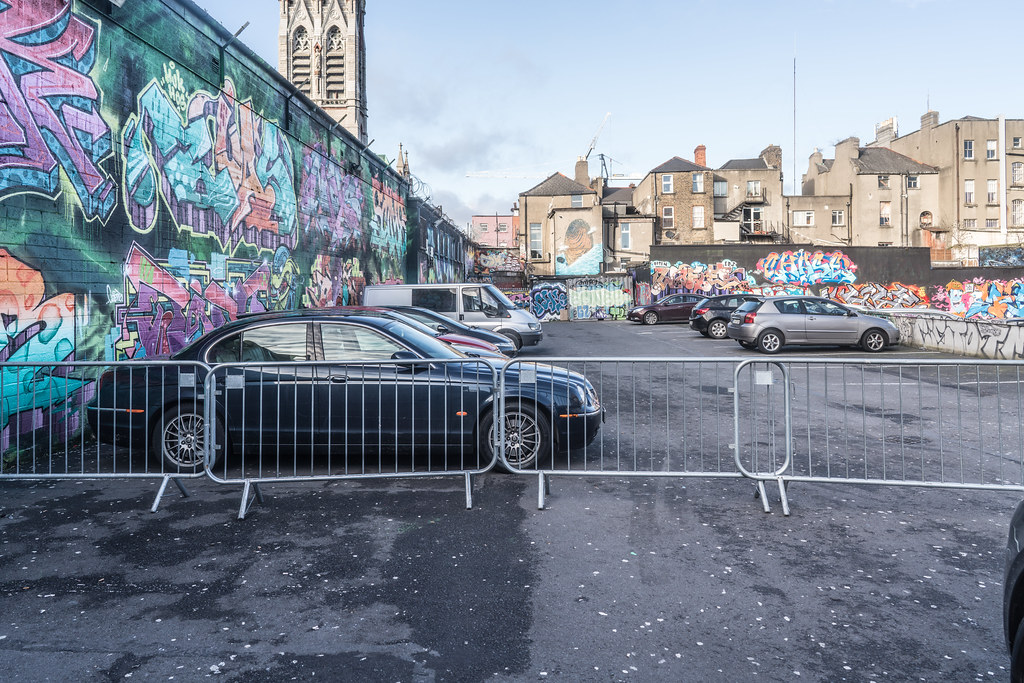 STREET ART AT THE TIVOLI CAR PARK IN DUBLIN [LAST CHANCE BEFORE THE SITE IS REDEVELOPED]-135641
