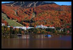 Mont Tremblant (Ste_✪) Tags: eos760d canada canadá monttremblant ottobre2016 otoño autumn autunno maple acero arce lago lake lakescape