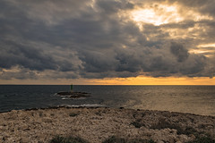 Planka (Zanahr) Tags: planka cape coast sea adventure adriatic adriaticsea explore croatia clouds weather terrain texture sunset sun landscape light lighthouse place places nature naturelover