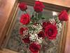 Valentine Roses (soniaadammurray - Off) Tags: iphone roses flowers table carpet interior quintaflower yourbestoftoday damncool