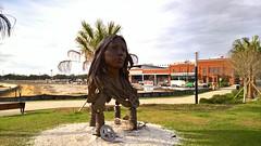 Water Works Park (heytampa) Tags: park waterworkspark heightspublicmarket armatureworks publicmarket statue riverwalk