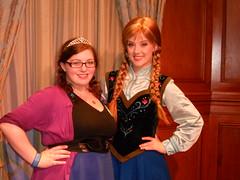 Princess Anna (DisneyGirl13!) Tags: anna disneybound magic kingdom mk wdw disney