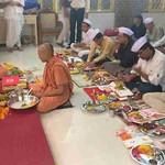 20171019 - Chopda poojan in Swaminarayan Mandir (4)