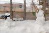 Bonhommes de neige, Québec, Canada - 4859 (rivai56) Tags: bonhommedeneige québec canada snow snowman hiver winter sonyphotographing villedequébec ca 2 bonhommes de neige qui font la joie des enfants en snowmen who make joy children