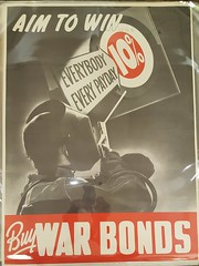 """WWII WAR BONDS POSTER.  $250. • <a style=""""font-size:0.8em;"""" href=""""http://www.flickr.com/photos/51721355@N02/27849161049/"""" target=""""_blank"""">View on Flickr</a>"""