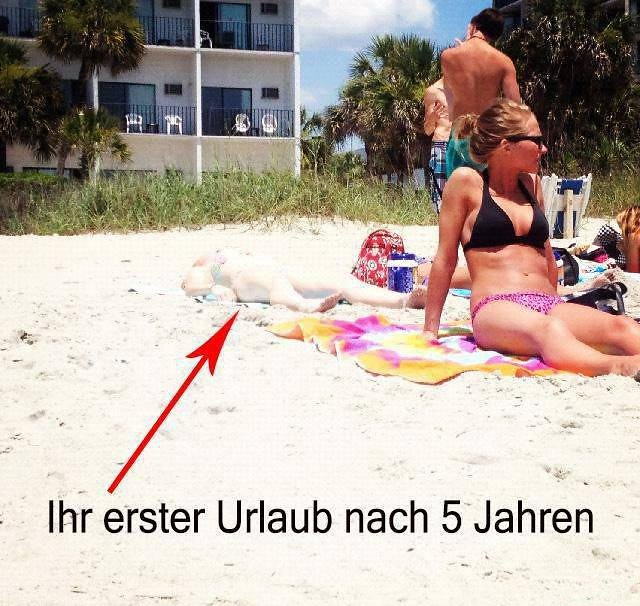 Endlich Mal Wieder Urlaub! (berniepcooper) Tags: Wmlz Witze Meme Lustiges  Zitate F18