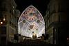 Noël à Malaga (hans pohl) Tags: espagne andalousie malaga houses maisons bâtiments buildings cities villes streets rues personnes people illumination night nuit