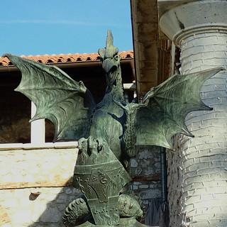 dragon de Trsat