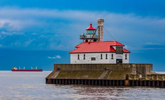 Duluth South Breakwater Outer Light (Eridony (Instagram: eridony_prime)) Tags: duluth saintlouiscounty minnesota parkpoint minnesotapoint ligthouse historic nrhp constructed1874