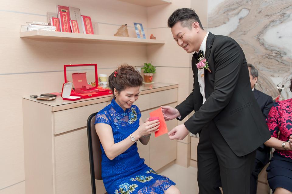 婚攝 高雄林皇宮 婚宴 時尚氣質新娘現身 S & R 034