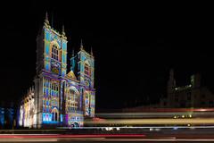 Luminous Abbey (JH Images.co.uk) Tags: london westminsterabbey abbey hdr night dri lighttrails light painting church illuminated illumination lumiere festival