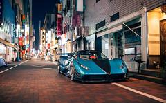 The Anija (Alex Penfold) Tags: pagani zonda anija blue supercars supercar super car custom c12 s c12s modified japan culture tokyo 2018 alex penfold
